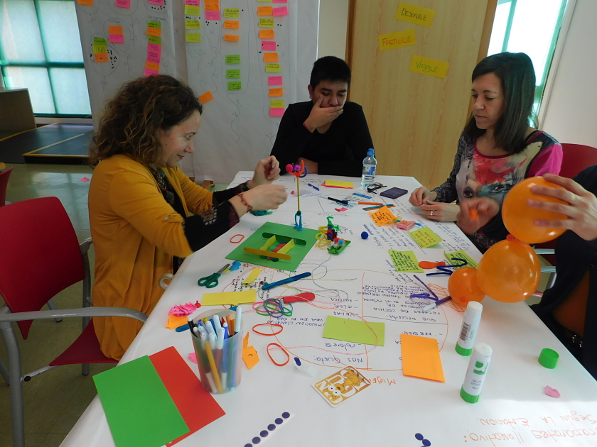 Manualidades de Design Thinking