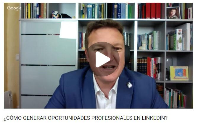 Seminario web de David Díaz Robisco sobre LinkedIn.
