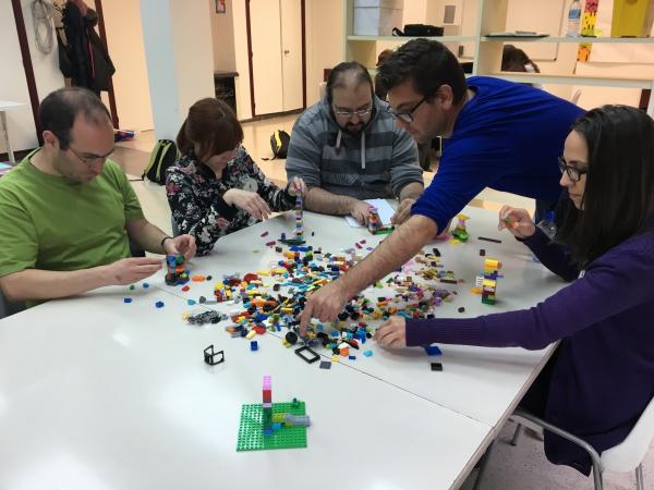 Taller Lego Serious Play | Lanzaderas de empleo