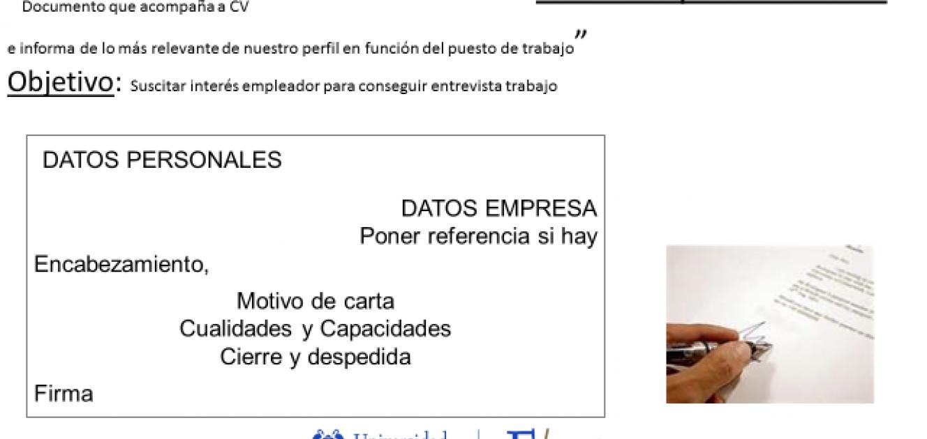 Taller Curriculum & Carta De Presentación | Lanzaderas de empleo