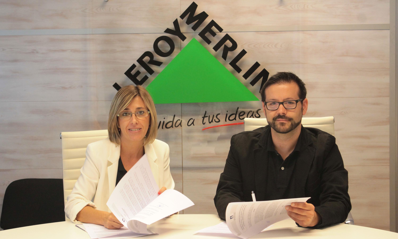 Leroy merlin nuevo socio colaborador del programa for Mono trabajo leroy merlin