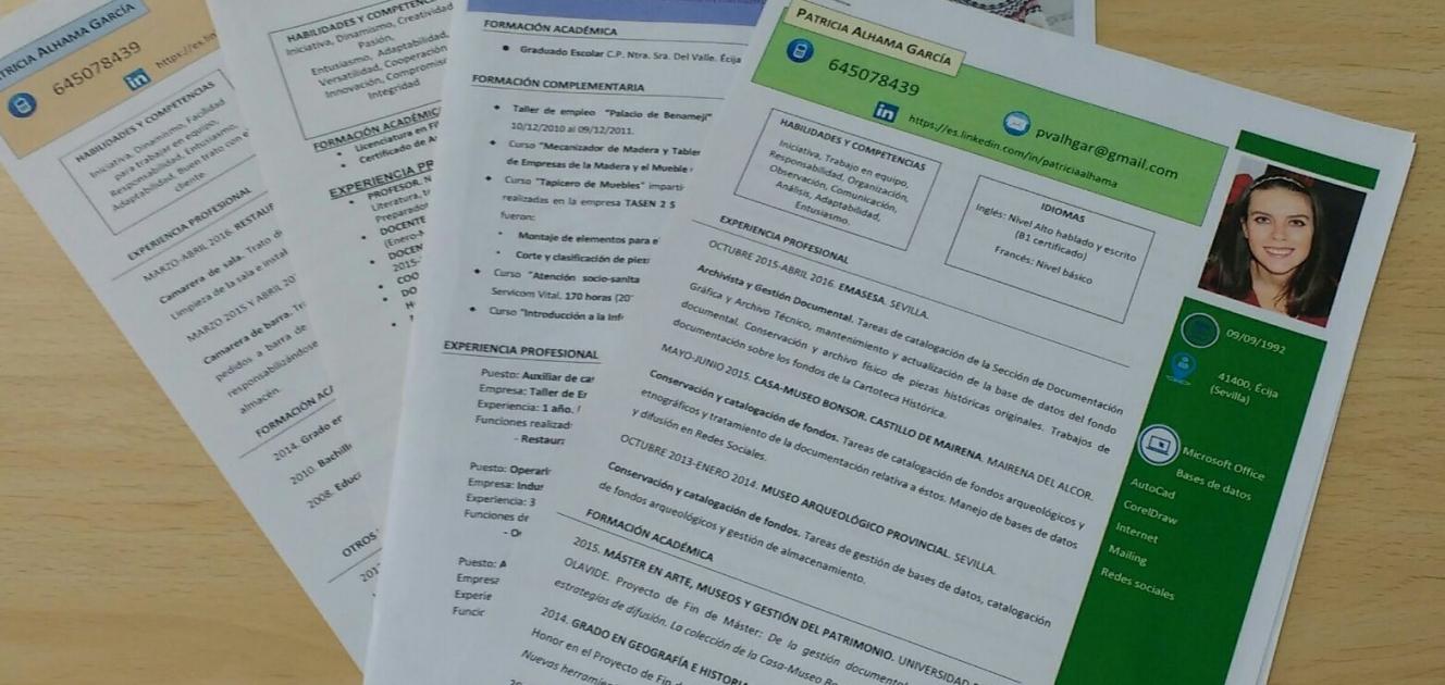 Algunas pautas a seguir para mejorar el currículum vitae. El ...